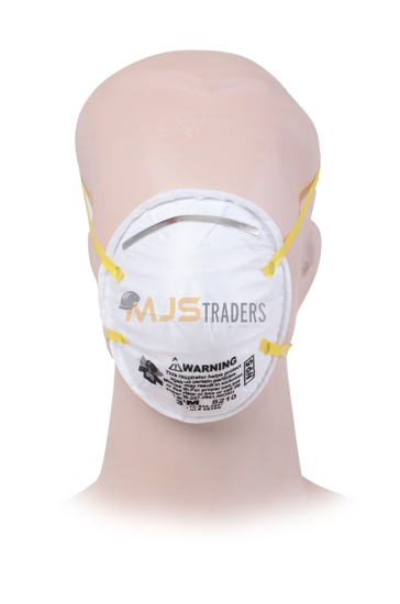 Picture of 3M N95 8210 Particulate Respirator Face Mask