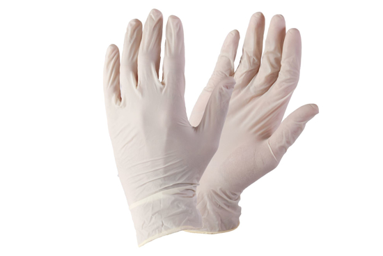 Picture of Disposable Latex Surgical Examination Gloves