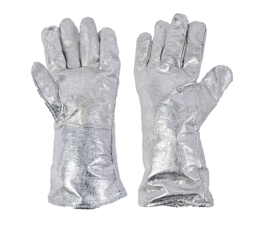 Picture of Fire Resistant Silver Gloves