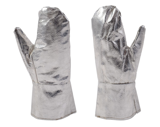 Picture of Fire Resistant Silver palm Gloves