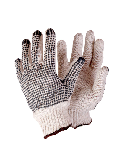 Picture of Knitted Dotted Seamless Cotton Gloves
