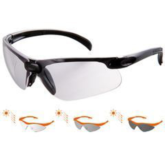 Picture of Two pieces safety photochoromatic lens eyewear *SS 4671/P