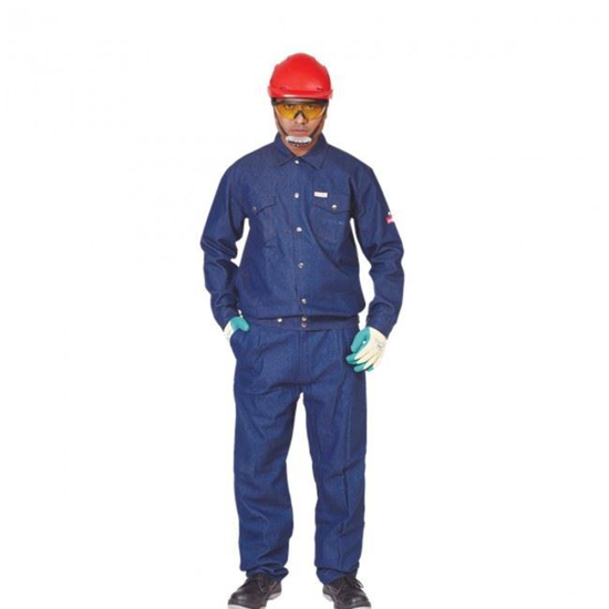 Picture of Denim Fire retardant Jacket and Trouser