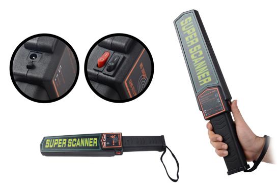 Picture of SUPER SCANNER - Hand held metal detector