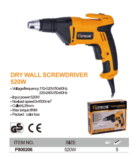 Picture of HOTECHE P800206 Dry Wall Screwdriver