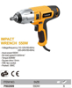 Picture of HOTECHE P802009 Impact wrench 550w