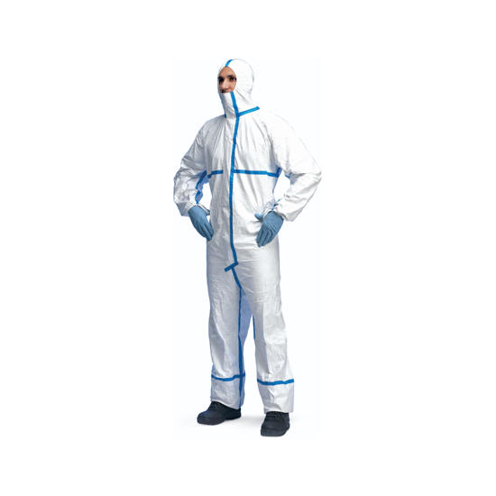 Picture of Tyvek Dupont Classic Plus CHA5a Protective Coverall with hood