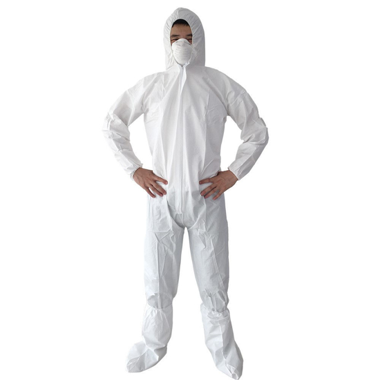 Picture of Waterproof Anti-static Microporous Protective Coveralls With Hood