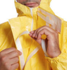 Picture of DuPont Tychem C CHA5 Yellow Chemical Coverall