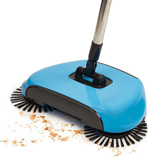 Picture of 360 Blue Rotating Hand Push Sweeping Spin Broom Sweeper