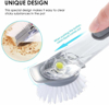 Picture of Push Button Dishwashing Brush Cleaner