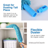 Picture of Flexible Microfiber Cleaning Brush Duster with Extandable Long Pole