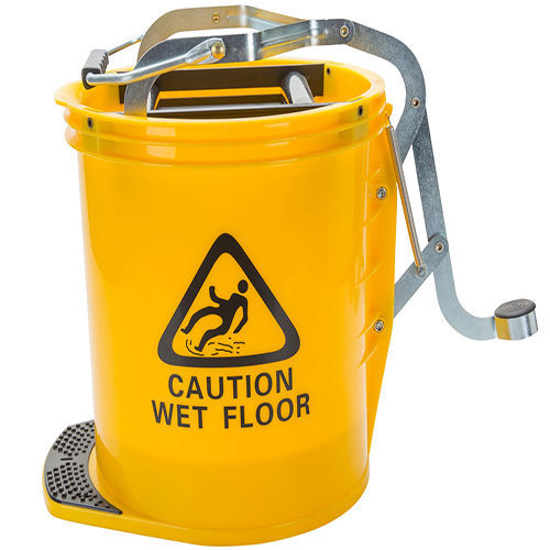 Picture of 25-L Yellow Wringer Mop Bucket