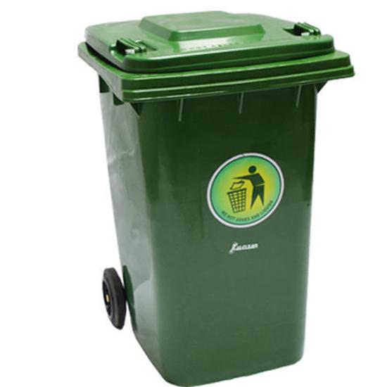 Picture of XDL-360F-5 Plastic Dustbin Green (360L)