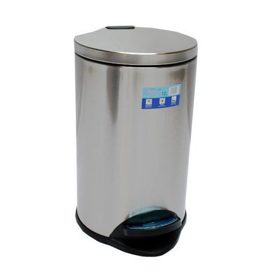 Picture of 8 L STAINLESS STEEL DUSTBIN
