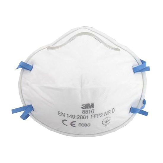 Picture of 3M Disposable Respirator N95 FFP2 Mask 8810