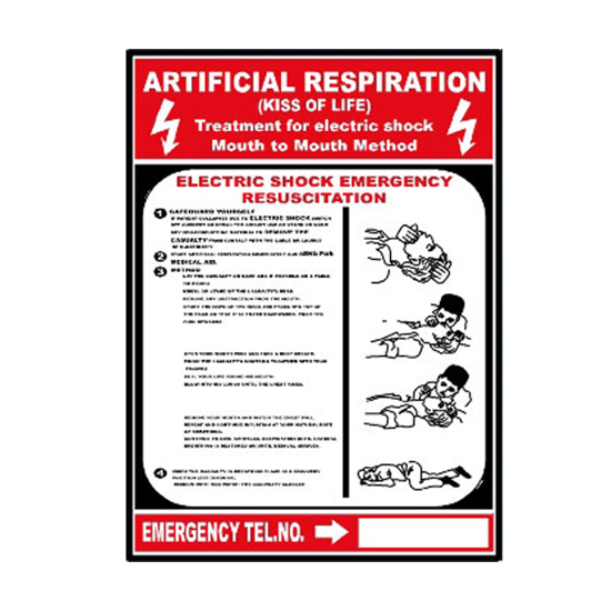 Picture of Artificial Respiration Sign