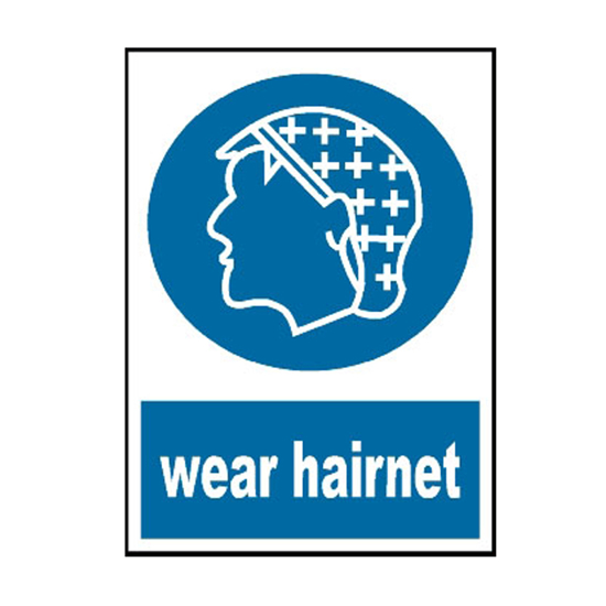 Picture of Wear Hairnet Sign