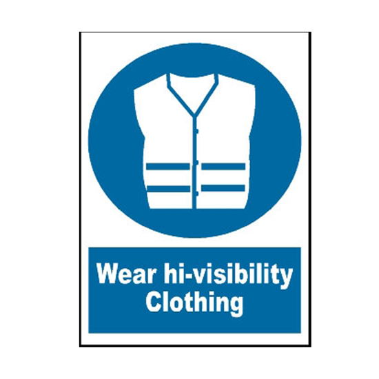 Picture of Wear High-Visibility Clothing Sign