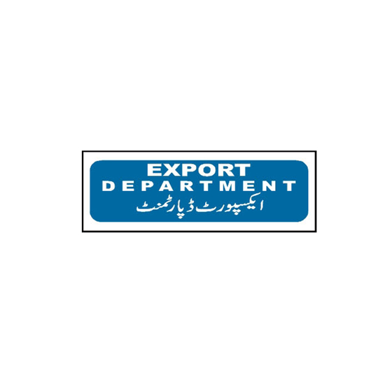 Picture of Export Department Sign
