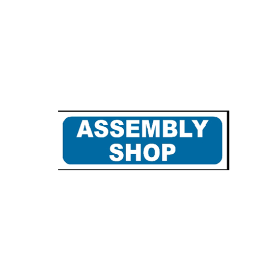 Picture of Assembly Shop Sign