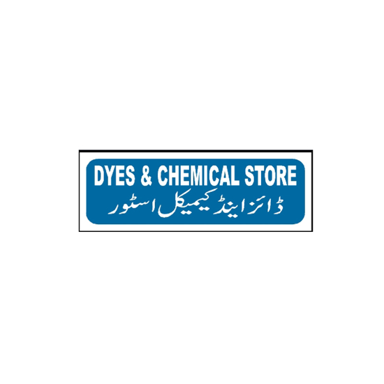 Picture of Dyes And Chemical Store Sign
