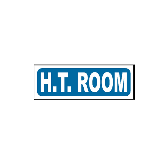 Picture of H.T Room Sign
