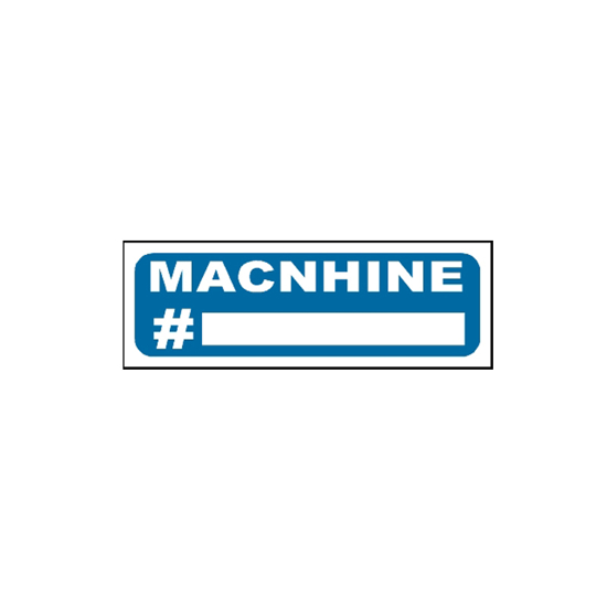 Picture of Machine Sign