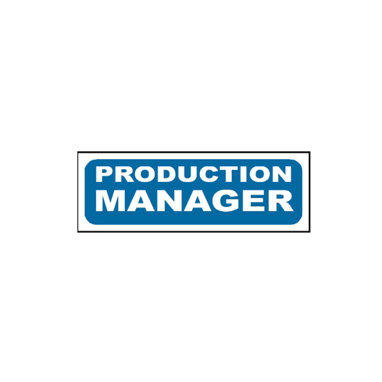 Picture of Production Manager Sign