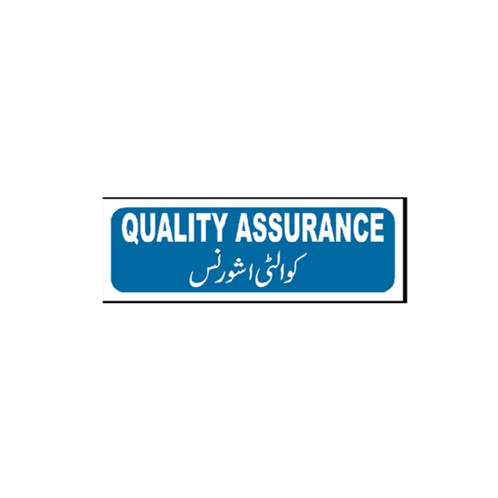 Picture of Quality Assurance Sign