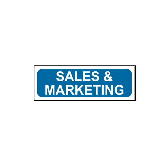 Picture of Sales & Marketing Sign