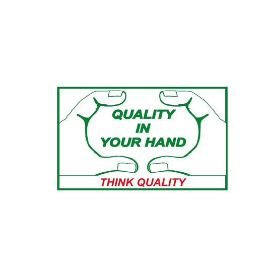 Picture of Quality In Your Hand Sign