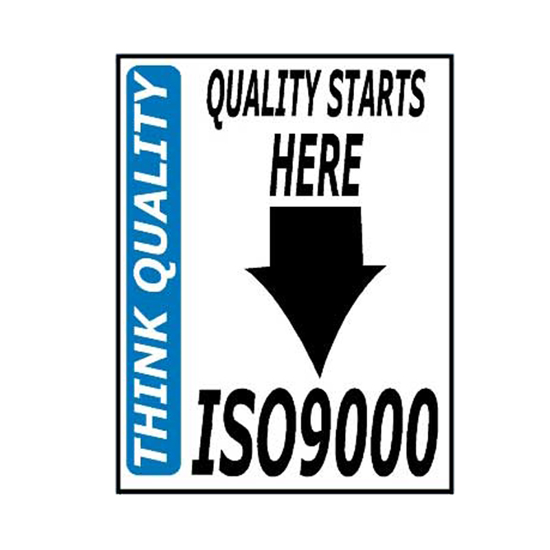 Picture of Quality Starts Here Sign