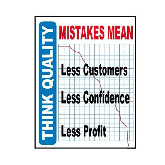 Picture of Mistakes Mean Sign