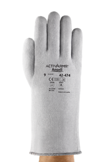 Picture of Ansell ActivArmr 42-474 Superior Heat Resistance Gloves