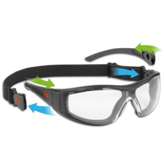 Picture of JSP Stealth Hybrid ASA450-151-102 Safety Combination Spectacles