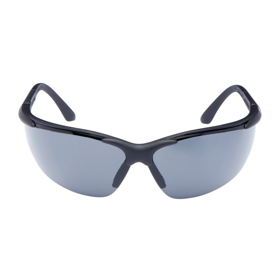 Picture of 3M 2750 Anti-Scratch Anti-Fog Black frame, Grey Lens  Safety Spectacle Glasses