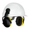 Picture of 3M Peltor Optime 98 H9P3E Yellow Earmuff For Helmet