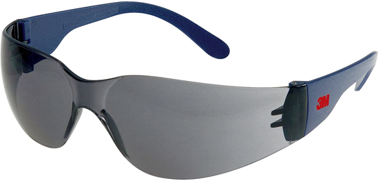 Picture of 3M 2721  Anti-Scratch Anti-Fog Grey Lens Safety Spectacle Glasses