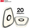 Picture of 3M 502 Respiratory Filter Adapter