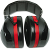Picture of 3M H10A Peltor Optime 105 Over the Head Black And Red Earmuff, Ear Protectors