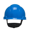 Picture of 3M H-703R Blue Hard Hat  Lightweight And Adjustable 4-Point Ratchet
