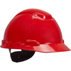 Picture of 3M H-705R Hard Hat-UV, Red, 4-Point Ratchet Suspension with Uvicator