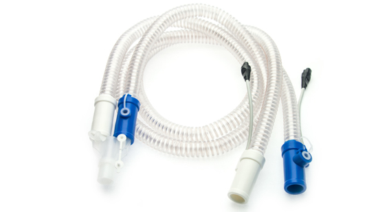 Picture of CPAP Circuit (Breathing Tube)