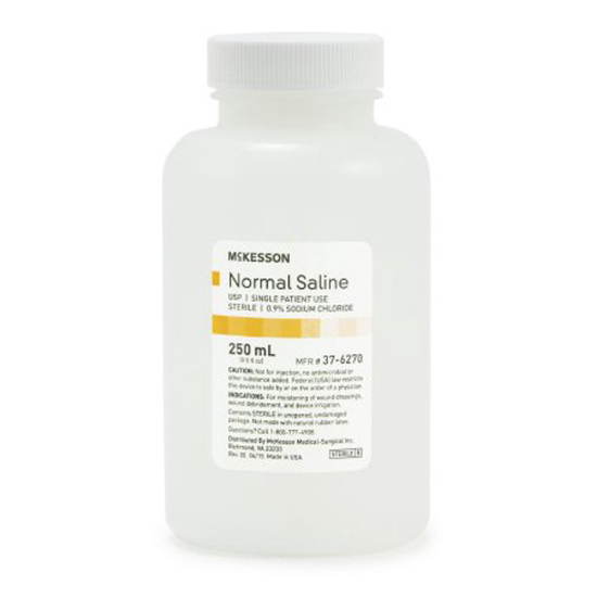 Picture of Normal Saline Solution
