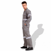 Picture of Prime Captain General Workwear Twill Cotton Coverall / Overall with Reflective Tape R991