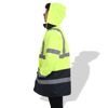 Picture of FP1653 Fluorescent Parka with Reflective Tape