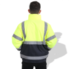 Picture of FP1655 Fluorescent Parka with Reflective Tape, 100% polyester