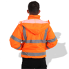 Picture of General Workwear Fluorescent Parka with Reflective Tape FP1657