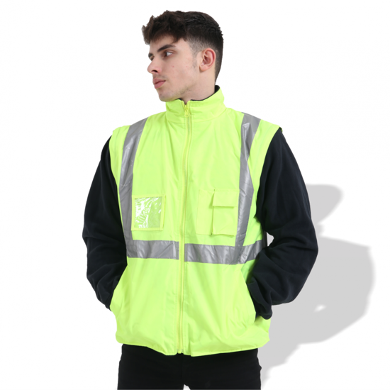 Picture of FP1654 Waterproof Fluorescent Parka with Reflective Tape
